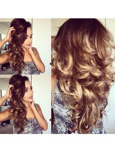 Easy and Bouncy Voluminous Curls using Hot Rollers-Hair Tutorial
