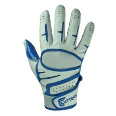Cutters Endurance Baseball Gloves (Royal, Youth Large) by Cutters. $27.40. Introducing Cutters' Endurance - the ultimate glove for high performance and durability. The C-TACK grip minimizes grip pressure, causing less muscle tension and quicker bat speed. C-TACK is strategically placed on fingers and palm patch for improved grip, dexterity, and high abrasion resistance so that your gloves will endure the season with superior performance. Also features a breatha...