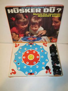 We played this memory game for hours!
