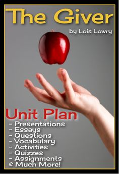 The Giver Unit Plan   Enter the world of Sameness! This unit plan has everything you will need to teach Lois Lowry's award-winning novel The Giver. With over 340 pages/slides of eye-catching powerpoints, printable assignments, questions, vocabulary, and interactive class activities, you will have everything you need!