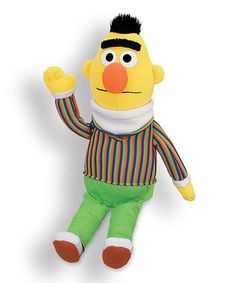 Another great find on GUND Bert Plush Toy by Sesame Street Sesame Street Characters, Disney Characters, Bert Sesame Street, Tigger, More Fun, Plush, Toys, Children, Hadley