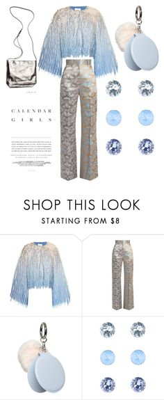 """as cold as ice"" by jeonayla on Polyvore featuring Marco de Vincenzo, Sophie Theallet, Dorothy Perkins, Accessorize, Kerr® and Ann Demeulemeester"