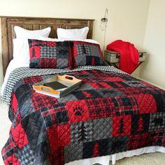 Flannel Quilts, Plaid Quilt, Mens Quilts, Kid Quilts, Rag Quilt, Plaid Flannel, Rustic Quilts, Rustic Bedding, King Quilt Sets