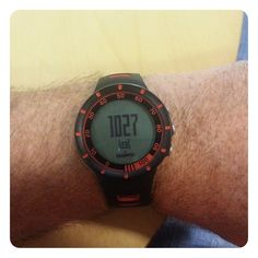 Suunto Quest showing Calories used after a 60 minute spinning session.