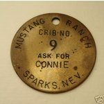 unusal coins and tokens | eBay Image 1 Mustang Ranch token coin Sparks, NV Rare Casino related