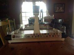 Reborn Coleco 5380 Table hockey Hockey Games, Stanley Cup, Table, Model, Ice Hockey, Scale Model, Tables, Desk
