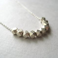 Geometric and trendy necklace!