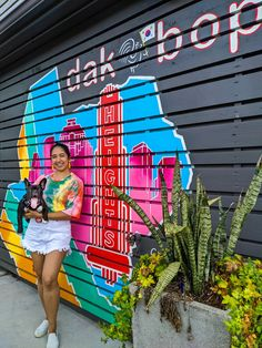 Check out our blog post for more murals in the Heights Houston, Texas. Top instagrammable spots in Houston. Top things to do in Houston. Houston Murals, Houston Tx, Houston Heights, Galveston Texas, Texas Bluebonnets, H Town, Sunset Colors, Texas Travel, Swimming Holes