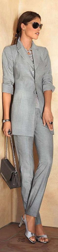 Swanky suit - nice image Stylish Suit, Suits For Women, Nice, Image, Style, Fashion, Swag, Moda, Jumpsuits For Women