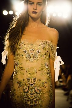 Marchesa Spring / Summer 2014 collection shown at New York Fashion Week
