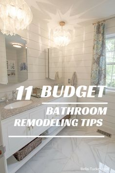 Bathroom remodeling on a budget. I planned, and Pinterest-ed, and consumed every blog I could find. Here are my top tips for saving money on your bathroom remodel: