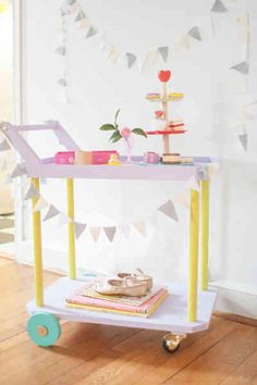 Vivi has been loving her little tea cart and playing shop, so I thought it would be fun to make a little grocery stand for her. I wanted to make something simple, and I put this one together on my own, without any help, so here is a really easy project if you want to […]