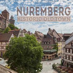 NUREMBERG Historic Old Town - CALVENDO
