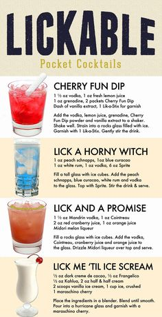 Liquor Drinks, Cocktail Drinks, Cocktail Recipes, Refreshing Drinks, Summer Drinks, Alcholic Drinks, Alcoholic Beverages, Shot Recipes, Fancy Drinks