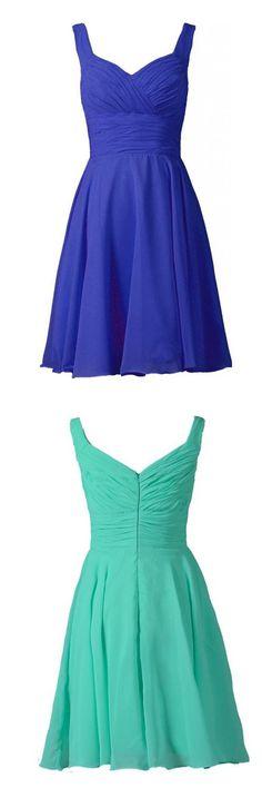2016 homecoming dress,homecoming dress,simple homecoming dress,cute homecoming dress,blue homecoming dress,baby blue homecoming dress,elegant bridesmaid dress,short homecoming dress