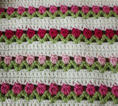 Wild Rose Vintage: Flowers In A Row
