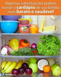 Familia.com.br | Como criar um menu saudável e barato. #Alimentacao #Economia
