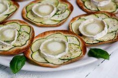 Cuinant: Minipizzas de Calabacín Aromáticas
