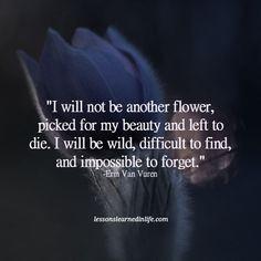 van vuren flower impossible to forget