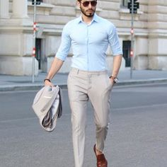 Still in love with this outfit Hope you have wonderful day ☺️ Stylish Mens Fashion, Stylish Menswear, Formal Men Outfit, Still In Love, Perfect Man, Khaki Pants, Normcore, Suits, Lifestyle