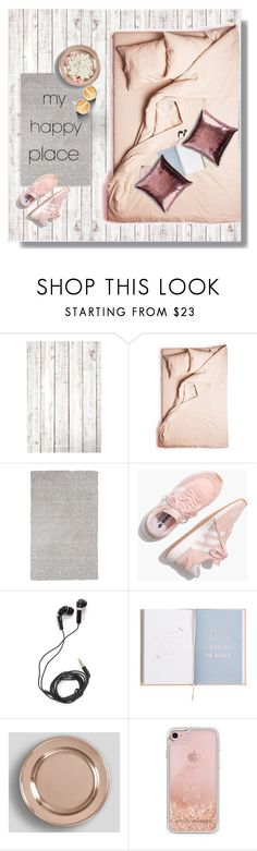 """My Happy Place"" by peony-and-python ❤ liked on Polyvore featuring interior, interiors, interior design, home, home decor, interior decorating, KAS, Madewell, DEOS and Pottery Barn"
