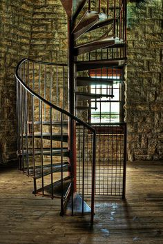 Tucker's Tower Winding Staircase