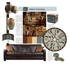 """Inspire Saturday"" by emcf3548 ❤ liked on Polyvore featuring interior, interiors, interior design, home, home decor, interior decorating, Thomaspaul, Pulaski, Portfolio and Stacy Garcia"