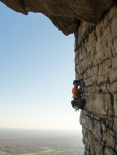 Just another amazing high altitude climbing pic :-)