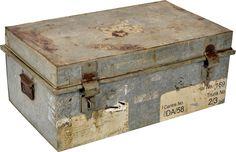 Resväska - Galvaniserat järn - Industristil - Vintage - Köp möbler och inredning på Reforma Sthlm