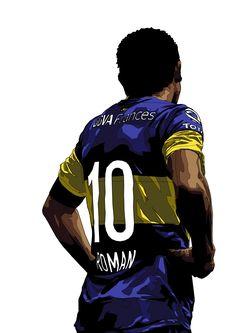 Juan Roman Riquelme of Boca Juniors wallpaper. Football Icon, Football Is Life, Football Gif, Football Shirts, World Cup Draw, Argentina National Team, Diego Armando, Cristiano Ronaldo 7, Soccer Stars