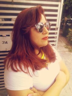 Hair Orange Red