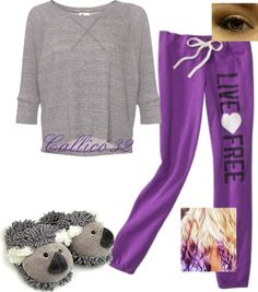 """""""Lazy day #5"""" by callico32 on Polyvore"""