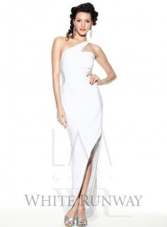 White Runway - Creams, white formal dress - you should see the back.