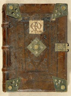 The Morgan Library & Museum - Incunable Bookbinding - PML 64977 - Front cover, outside
