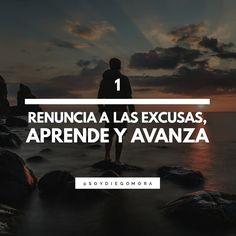 7 consejos para tu crecimiento personal: Renuncia a las excusas, aprende y avanza
