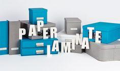 PAPER LAMINATE - Ob für das Büro oder für Zu Hause, diese Aufbewahrungsboxen bieten eine stilsichere Lösung. Alle Paper Laminate Produkte werden bei der Herstellung in Handarbeit mit Papier überzogen und bieten so eine qualitativ sehr hochwertige Ordnungslösung für Sie