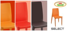 SELECT - Full solid and smooth backrest gives this matte finish #chair a bold look and a commanding presence. The ergonomic shape of this modern chair makes it inviting and offers great comfort. SELECT chair is available in various attractive colors. Get more information at www.swagath.co today!!