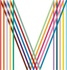"Original Modern ""M"", the logo by Saville for the redesign of Manchester's identity"
