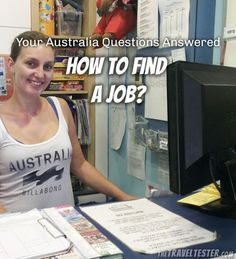 Your Australia Questions Answered - Finding A Job