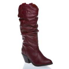 I have always wanted a pair of red boots