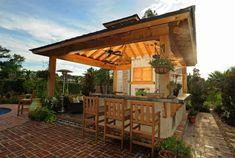 Lafayette-LA-Outdoor-Kitchen-by-Backyard-Builders Summer Kitchen Design Ideas (50 Pictures)