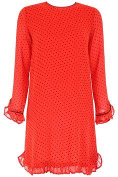 f74d2d25ca0 GANNI MULLIN DRESS.  ganni  cloth Red Polka Dot Dress