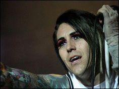 Davey Havok - AFI. This man can rock false eyelashes & makeup better than me!