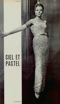 Vintage Gown by Balenciaga 1964