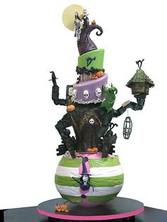 nightmare before christmas disney-cakes