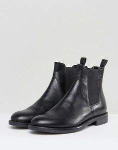 9238becc2c6fdb Discover Fashion Online Black Leather Chelsea Boots