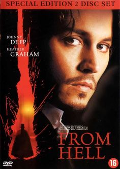 From Hell - Johnny Depp and the search for Jack the Ripper Halloween Movies, Scary Movies, Great Movies, Horror Posters, Horror Films, Movie Posters, Dark Shadows Movie, Image Film, Johnny Depp Movies