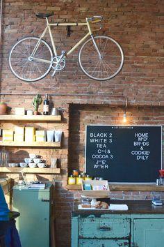 BounceSpace Amsterdam West Bike and Coffee Coworkingspace