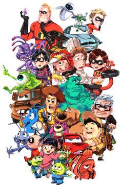 Pixar: Fan Drawings!
