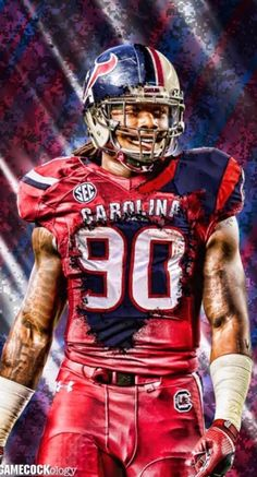 e320d8a8f South Carolina Gamecocks DE  7 Jadeveon Clowney (2011-2013)  90 Houston  Texans OLB  1 Draft Pick 2014 NFL Draft